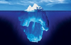 What we know is usually just the tip of the iceberg.